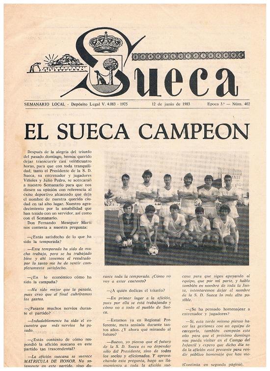 Imagen historia SD Sueca